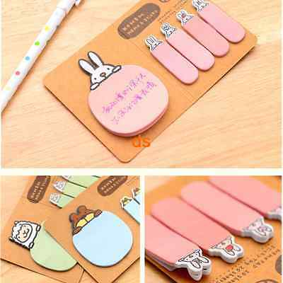 Lovely 100 Sticker Flags Bookmark Page Marker Memo Index Tab Sticky Note