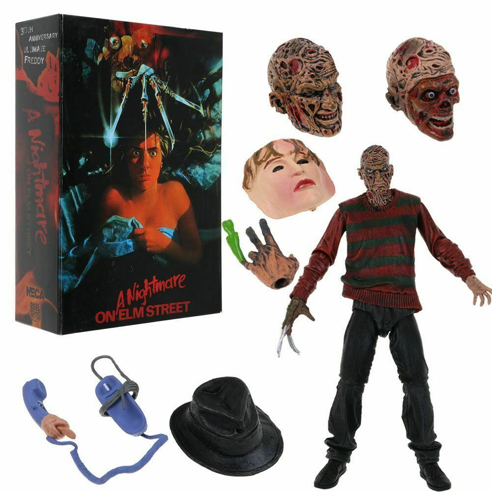 Nightmare Nightmare Nightmare on Elm Street Ultimate Frossody Krueger 30th Anniver. Action Figure NECA 556d0f