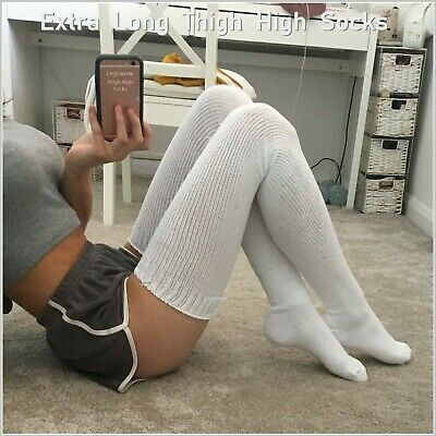 Details about  /Women Ladies Soft Over Knee Long Boot Thigh High Socks Warm Stockings Leggings