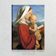Dyce, Madonna con bambino QUADRI MODERNI CAPEZZALI RELIGIOSI QUADRO VERGINE ARTE