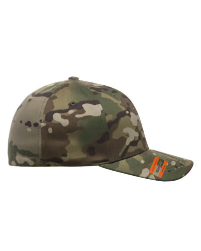 Flexfit MultiCam Military Army Camo 6 Panel Baseball Fitted Cap Hat