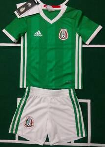 Details about ADIDAS SELECCION MEXICANA MINIKIT JERSEY AND SHORT BABY KIDS LOCAL HOME ORIGINAL