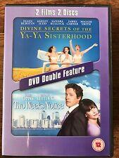 Sandra Bullock DIVINE SECRETS OF THE YA-YA SISTERHOOD / TWO WEEKS NOTICE  UK DVD