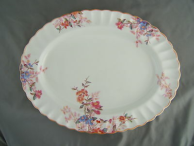 Spode Chelsea Garden 14 3/4'' Oval Meat Serving Platter