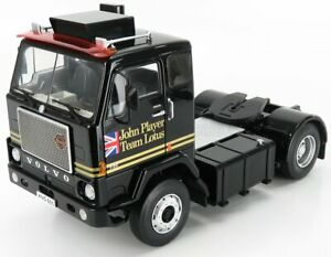 ROAD-KINGS 1/18 VOLVO   F88 TRACTOR TRUCK TEAM LOTUS WITH UNION JACK 2-ASSI 1...