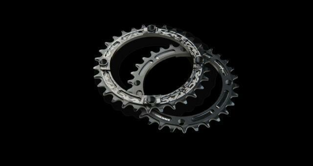 RaceFace Narrow Wide Chainring 104mm BCD 34t Black