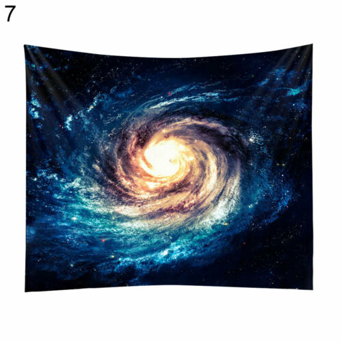 Wall Hanging Tapestry Nordic Universe Moon Black Hole Blanket Mat Home Decor