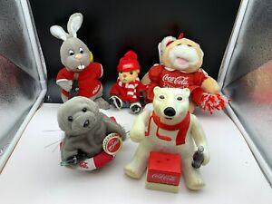 Coca-Cola-Collector-Convolute-5-Teile-Pot-Condition