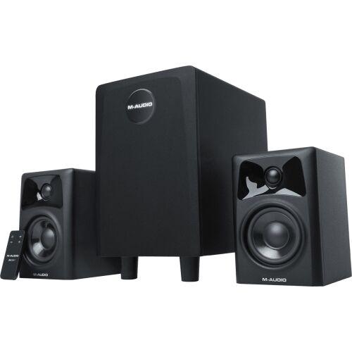 m-audio studiophile av 321 - systeme 2.1 enceintes et caisson