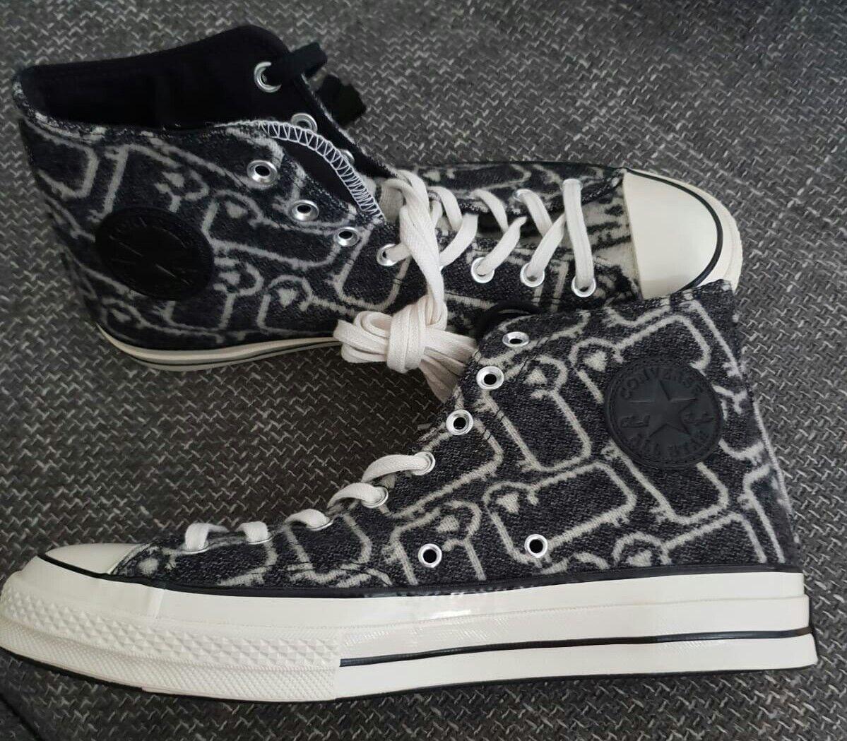 Converse Chucks allstars black Edition sheep Matrix style collectors Edition black 44 10 12 d6f70e