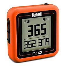 Bushnell NEO GHOST ORANGE Golf GPS Rangefinder 368226 BRAND NEW 2015