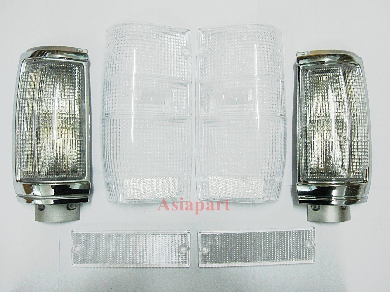 clear corner bumper tail light lenses for mitsubishi. Black Bedroom Furniture Sets. Home Design Ideas