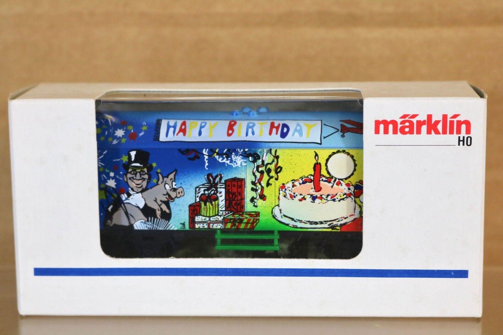 MARKLIN MÄRKLIN K0197 SONDERMODELL HAPPY BIRTHDAY KUHLEWAGEN WAGON nq