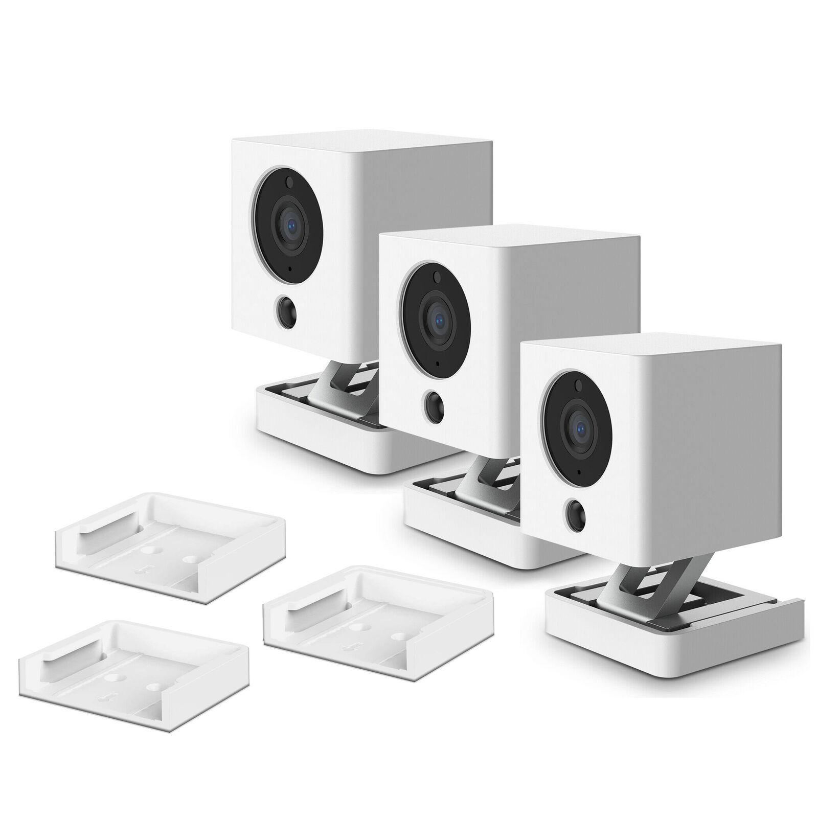 HOLACA Silicone Skins for Neos SmartCam/Wyze Cam V2 with Wall Ceiling Mounts