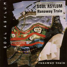 CD Single SOUL ASYLUM Runaway train 2-Track CARD SLEEVE STICKER ☆