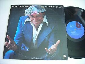 Horace-Silver-Silver-039-N-Brass-1975-Stereo-LP-VG
