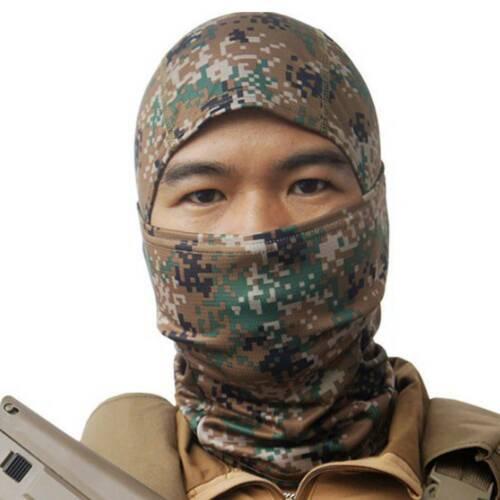 Camouflage Military Tactical Sniper Hunting Shooting Balaclava Bandana Face Mask