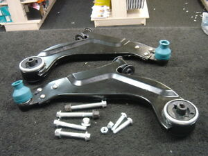 JAGUAR X-TYPE 01/> ALL MODELS TWO FRONT LOWER WISHBONE SUSPENSION ARMS BRAND NEW