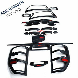 2015 2017 Ford Ranger Truck Complete Exterior Body Kits Accessories Set New Ebay