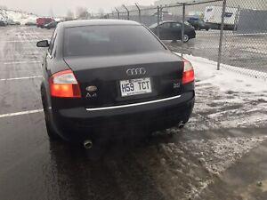 2005 Audi A4 3.0L Quattro manuelle