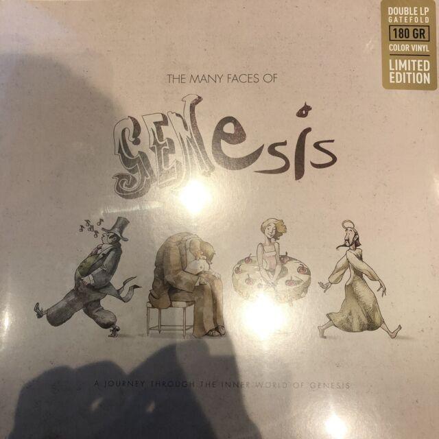 THE MANY FACES OF GENESIS Ltd Ed 2 X LTD MARBLE 180gram Vinyl Lp - New / Sealed