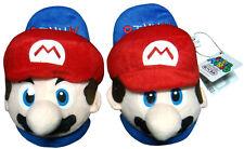 Nintendo Super Mario Brothers Red Mario Kids Children Soft Plush Slipper 1 Pair