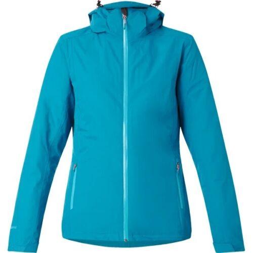 McKInley Damen Doppeljacke Kama Funktions Outdoor Wander Trekkingjacke Blau Neu