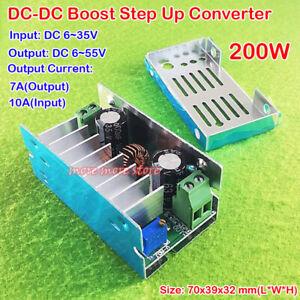DC-DC 6-35 V à 6-55 V 10 A 200 W Boost Convertisseur Chargeur de Step-up Power Module