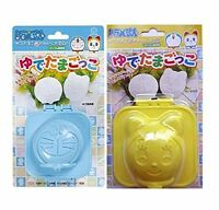 Japanese Yudetama Gokko Doraemon Dorami Boiled Egg Bento Box Mold, Made In Japan