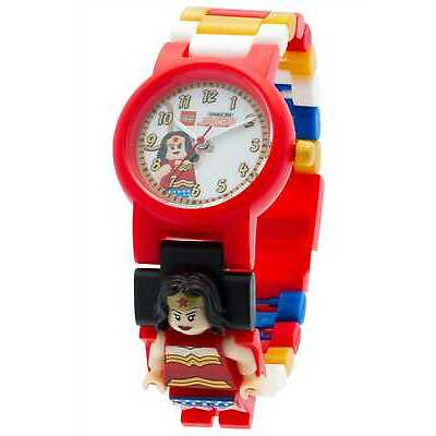 Lego DC Comics Super Heroes Wonder Woman Minifigure Link Watch