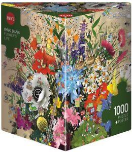 MARINO DEGANO - FLOWER'S LIFE - Heye Puzzle 29787 - 1000 Teile Pcs.