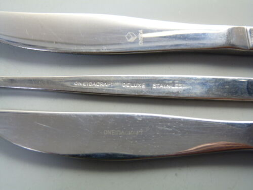 "VANESSA Pattern Soup Spoon // Spoons 7/"" ONEIDA Community"