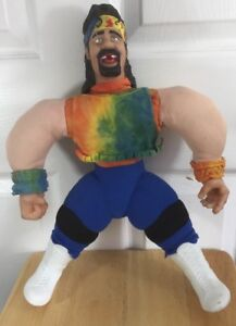Dude-Love-Jakks-Wrestling-Buddy-Wwe-Wwf-Mick-Foley-Wcw-Tna-Impact-1998-18-Inches