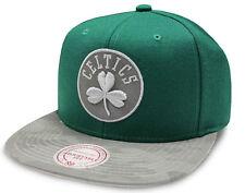 Boston Celtics Cap NBA Mitchell & Ness Reflect Camo Snapback Cap New - One size