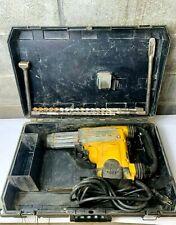 Dewalt D25730 2 Sds Max Combination Hammer Drill With Bits Works Fine