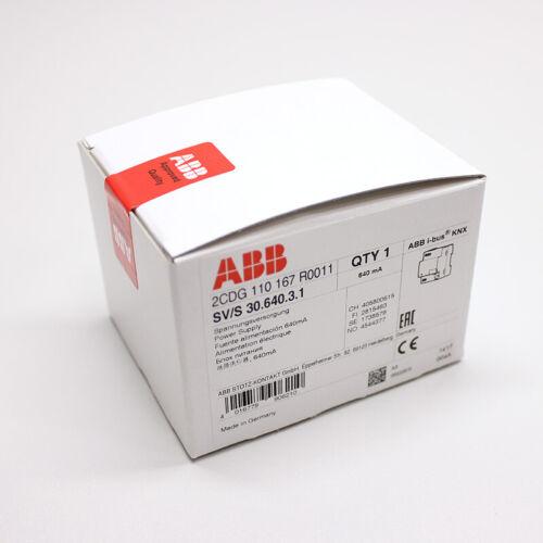 640 mA ABB sv//s30.640.3.1 alimentation électrique
