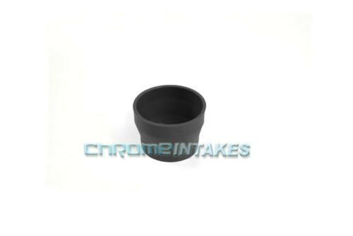 """BLACK 3/""""-3.5/"""" AIR INTAKE//PIPING RUBBER REDUCER COUPLER FOR AUDI"""