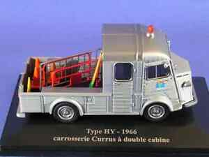 ELIGOR-1-43-CITROEN-H-Y-DOUBLE-CABINE-PLATEAU-style-DDE-Carrosserie-CURRUS-1966