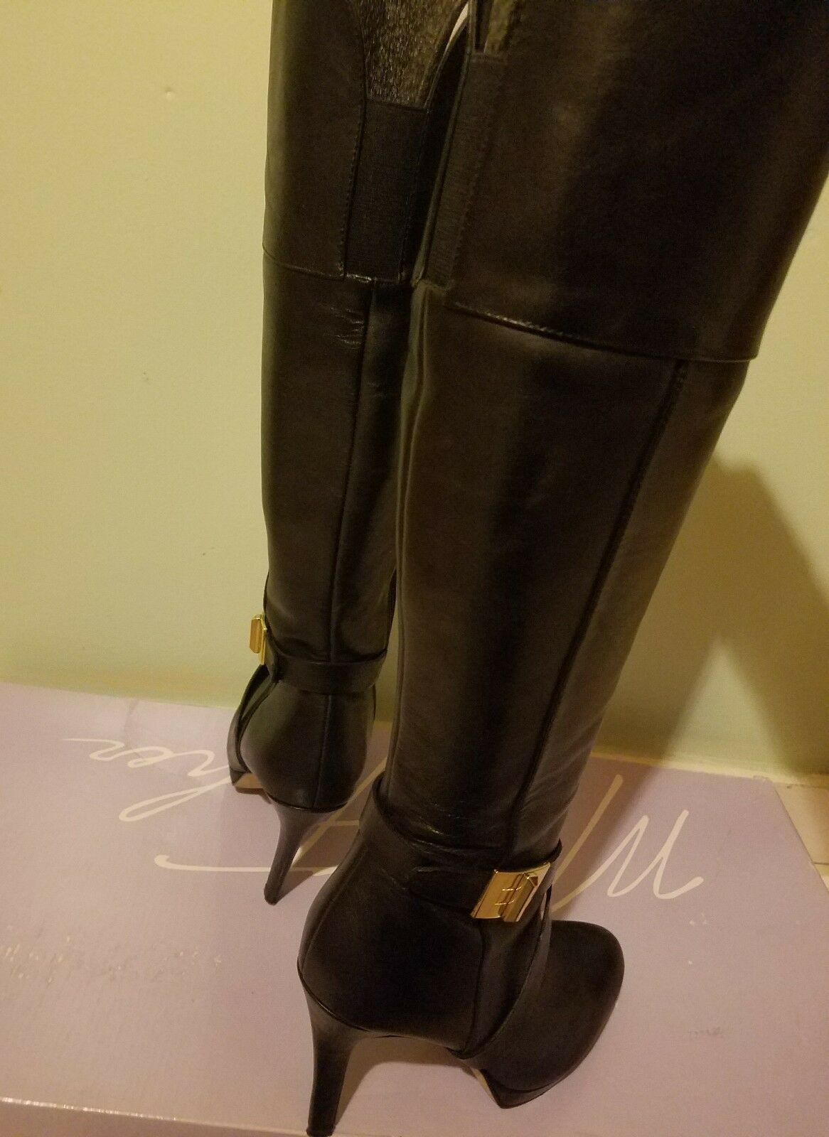 Marc fisher tall black boots 5.5 5.5 5.5 only used once in great shape with box b31c4b