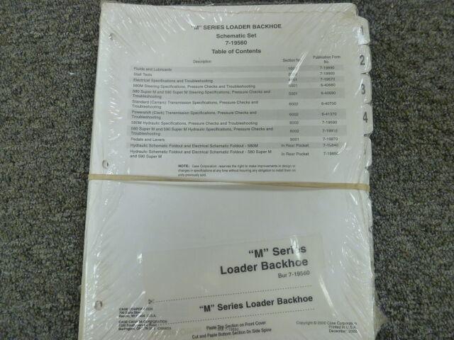 Case 580m  U0026 580 590 Super M Loader Backhoe Electrical