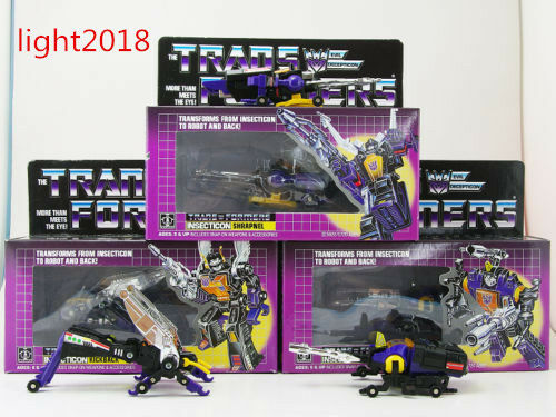 Transformers Insecticons Shrapnel Bombshell Kickback Action Figure Toy Gift