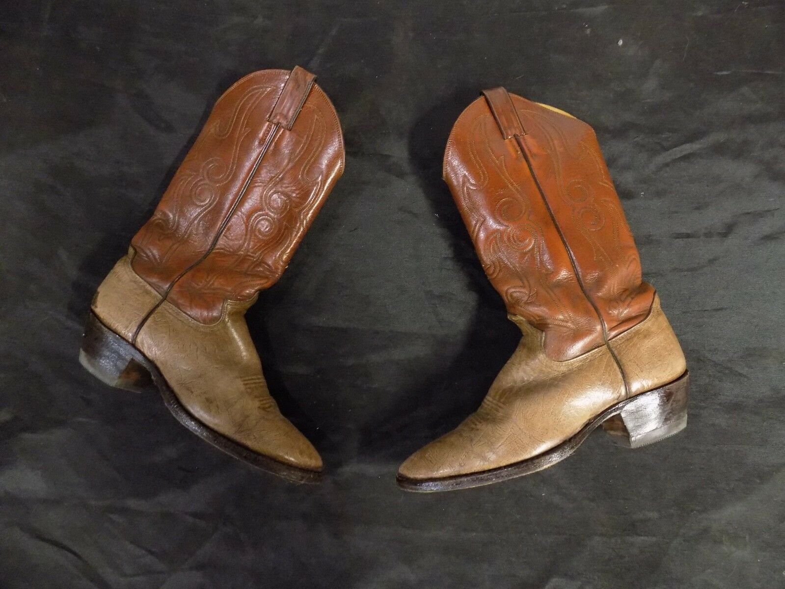 COMB última botas de vaquero un dueño comprado D Justin estilo J 5412 V 5833
