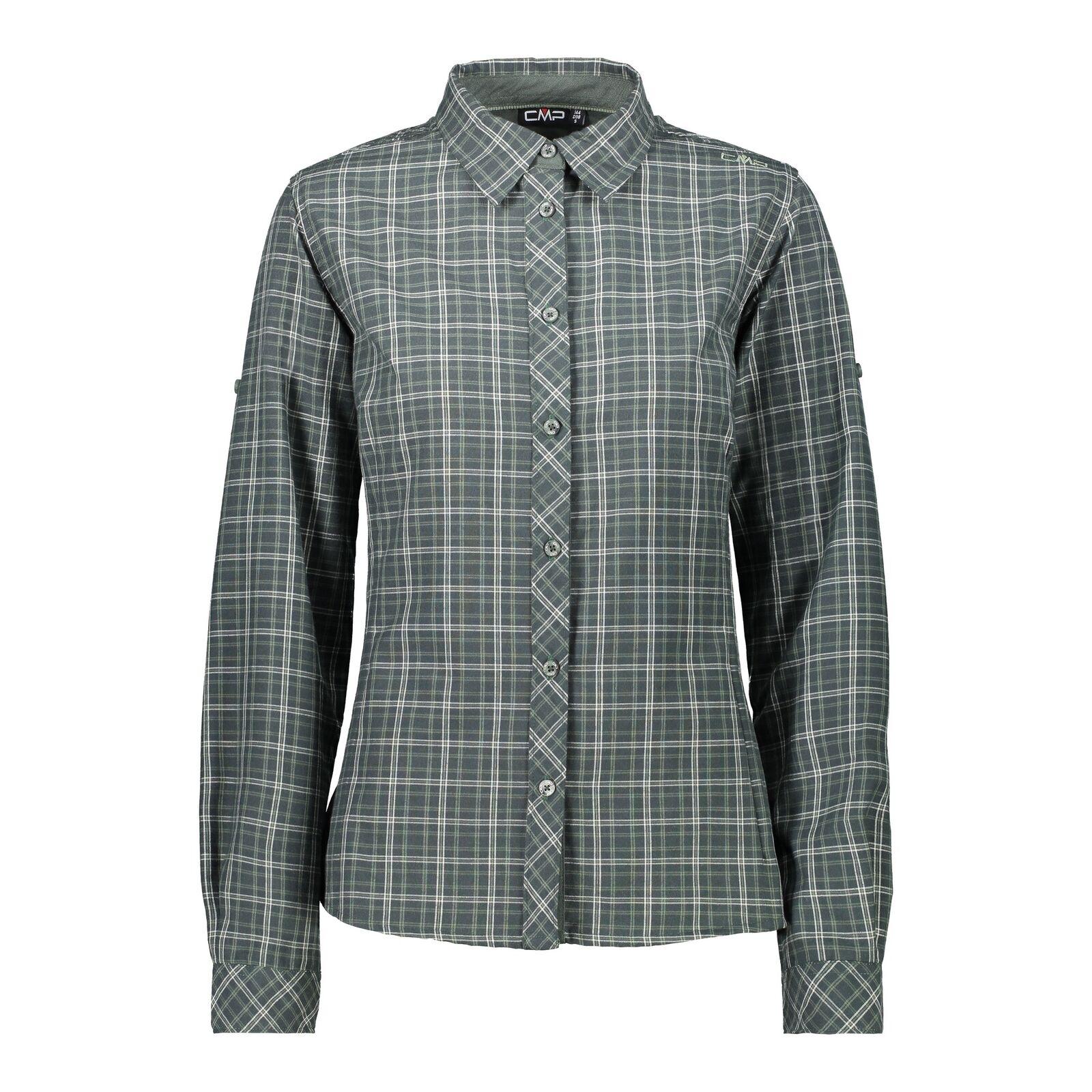 CMP Blouse Outdoor Shirt Woman Shirt Green