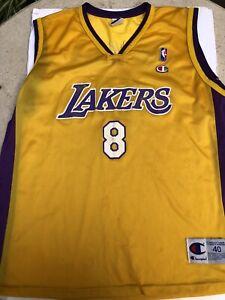 Rare Vintage 90s Los Angeles Lakers Kobe Bryant 8 Champion Jersey ...