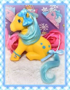 ❤️My Little Pony MLP G1 VTG 1983 Bubbles French FRANCE Variant Nirvana Sitting❤️