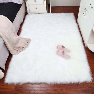 Faux sheepskin rug Nursery Image Is Loading Largefauxsheepskinrugarearugsfluffymat Ebay Large Faux Sheepskin Rug Area Rugs Fluffy Mat Pad Room Sofa Hairy