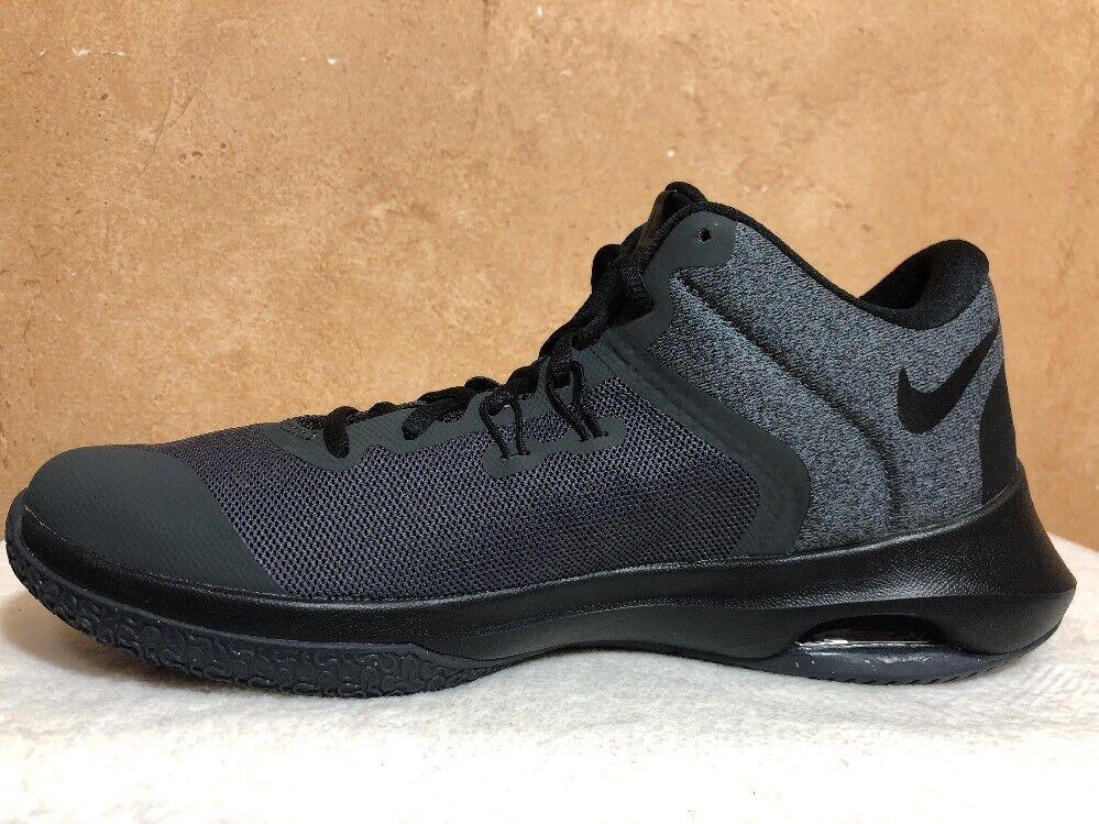Nike Air Versitile II Black/Gray AA3819-001 Men's Basketball Shoe Size 9.5