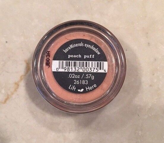 bare escentuals peach puff eyeshadow ebay