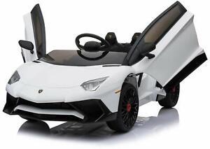 AUTO-MACCHINA-ELETTRICA-PER-BAMBINI-Lamborghini-Aventador-12v-PRODOTTO-LICENZIAT
