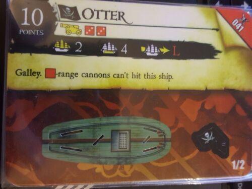 Wizkids Pirates of the Caribbean #041 Otter Pocketmodel CSG